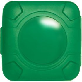 Condoms Compacts in Green (case of 250)