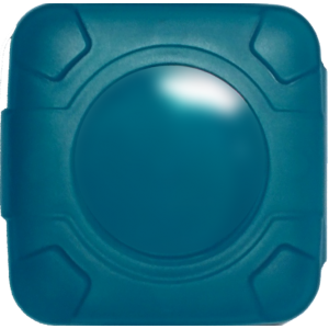 Condoms Compacts in Blue (case of 250)