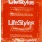 LifeStyles® Ribbed Pleasure - Case of 144